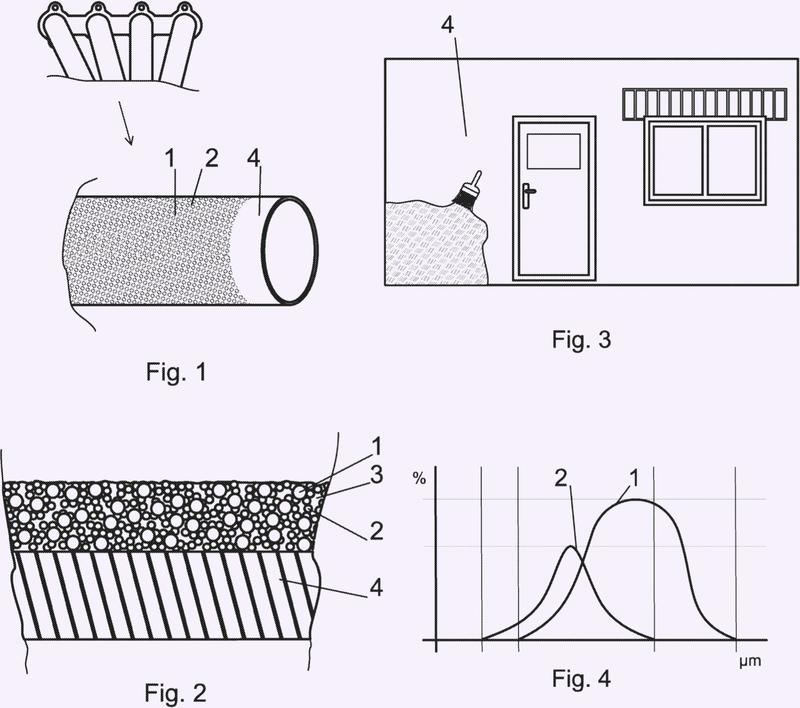 Material para tratamiento de superficie y su aplicación.