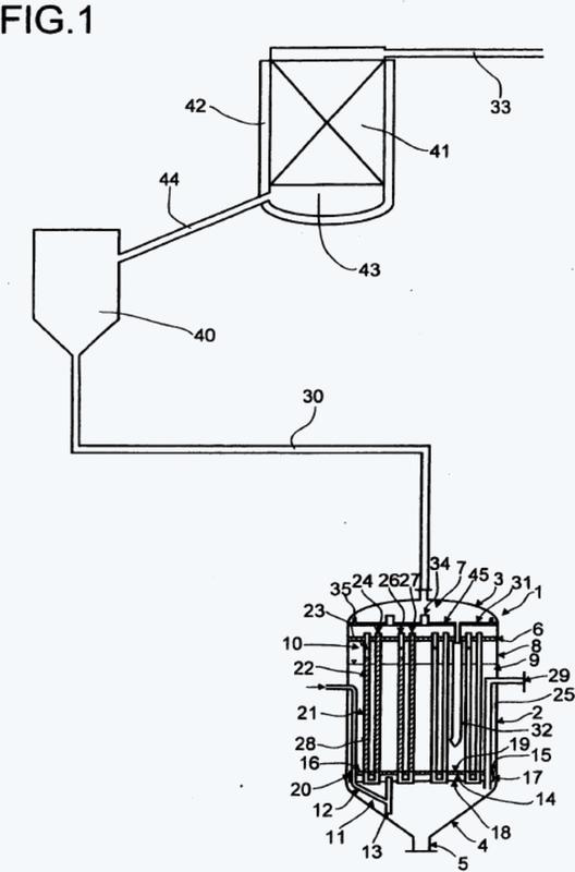 Dispositivo para la producción continua de sulfuro de hidrógeno.