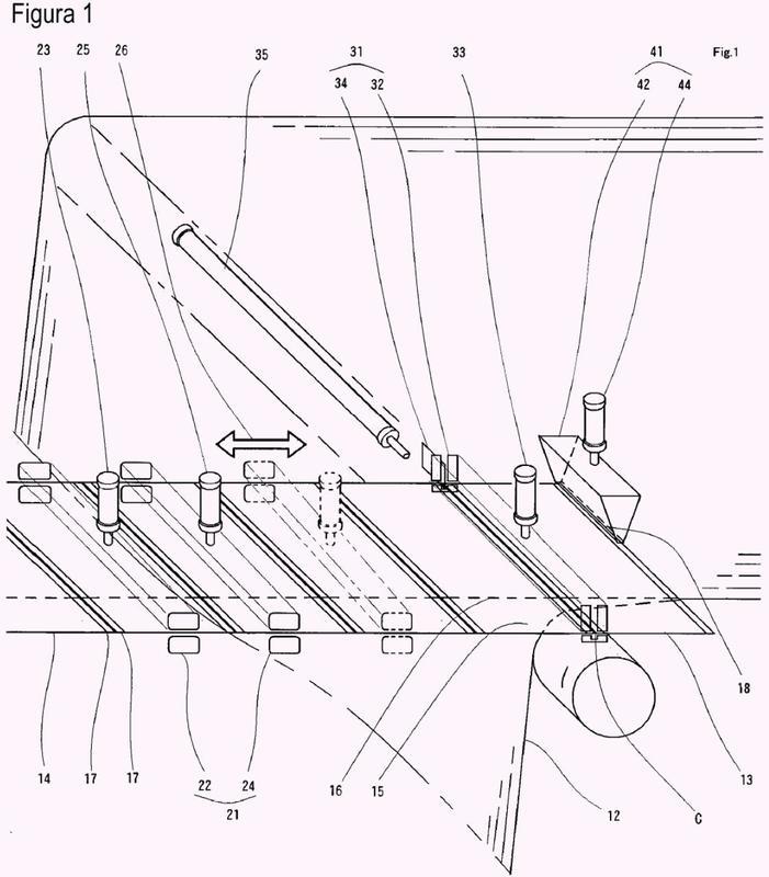 Método de procesamiento y dispositivo de procesamiento para hoja de cuerpo de recipiente.