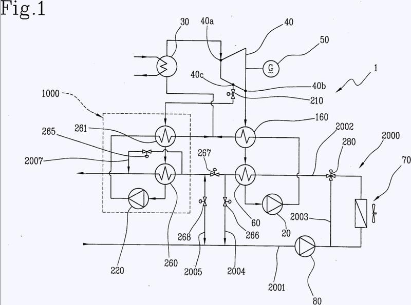 Sistema y proceso ORC para generación de energía mediante un ciclo orgánico de Rankine.