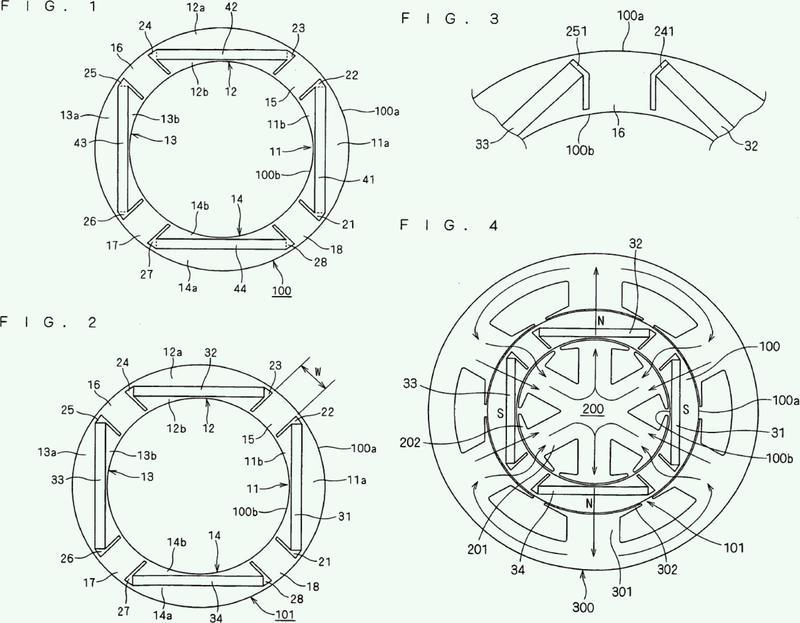Cuerpo magnético, rotor, motor, compresor, ventilador, climatizador y climatizador a bordo de un vehículo.
