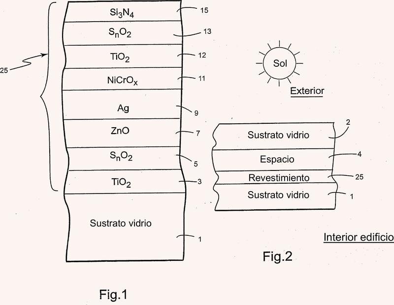 Artículo revestido con capa(s) reflectante(s) de IR.