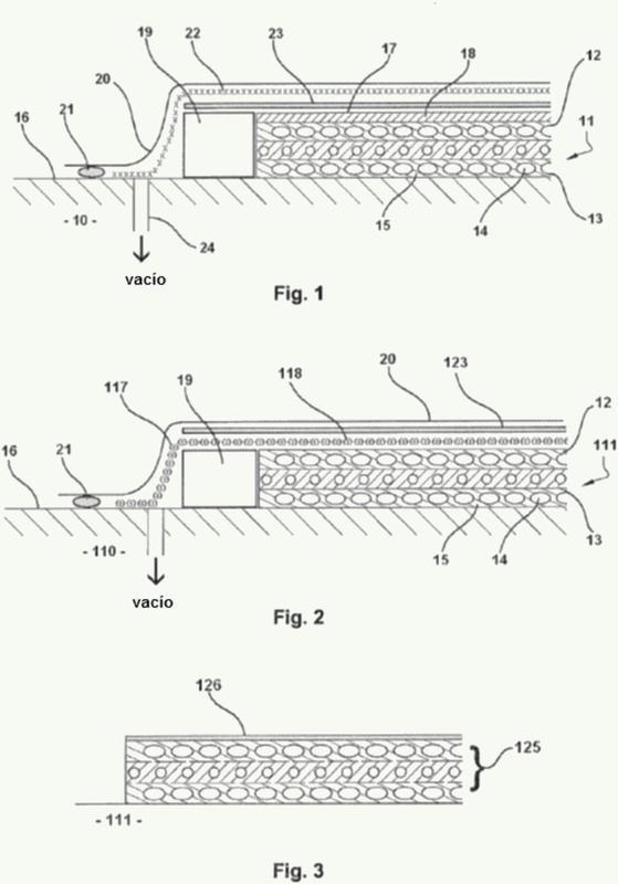 Procedimiento de fabricación de una pieza de material compuesto termoendurecible recubierta de una capa termoplástica.