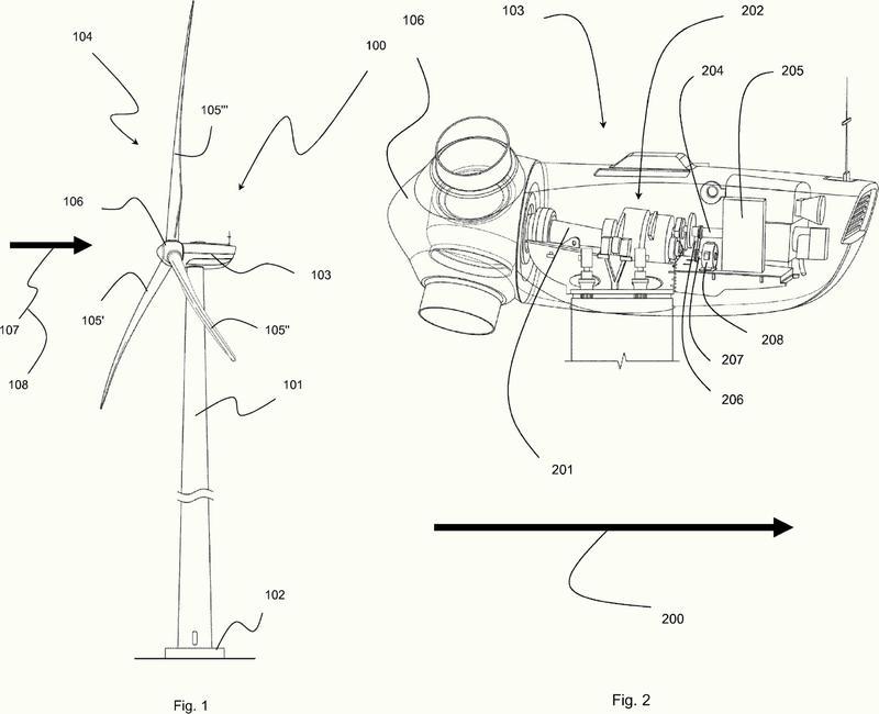 Turbina eólica con un generador principal y uno secundario, y método de operación de dicha turbina eólica.