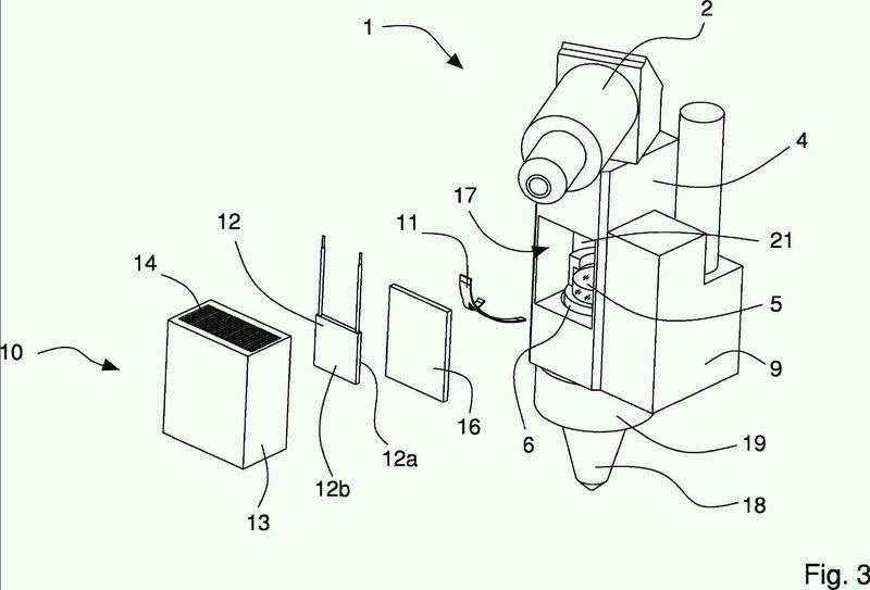 Cabezal de corte láser con una unidad de refrigeración fijada al cabezal; máquina herramienta de corte y/o troquelado láser con dicho cabezal de corte láser.