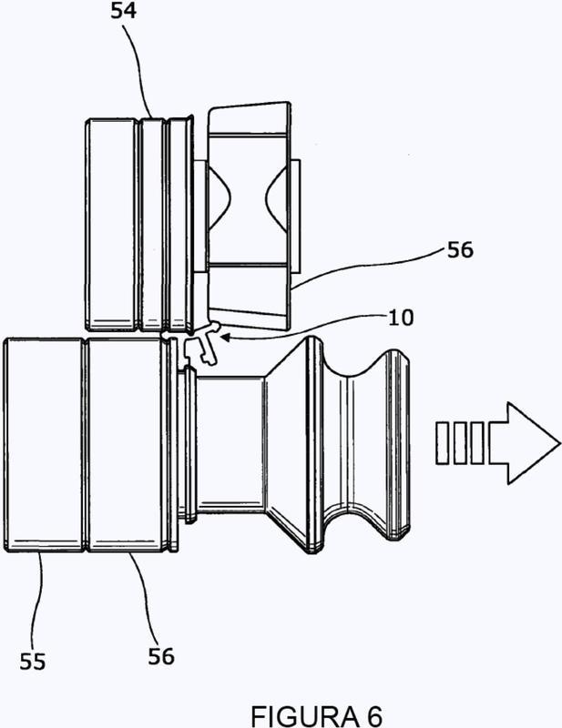 Método de fabricación de un riel de guía para una pantalla.