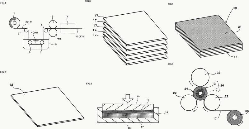 Material de superficie deslizante y elemento deslizante multicapa equipado con dicho material de superficie deslizante.