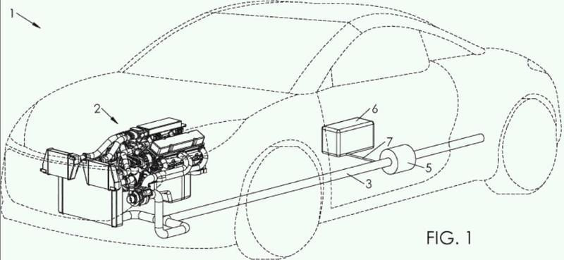 Procedimiento de tratamiento de los gases de escape de un vehículo automóvil.