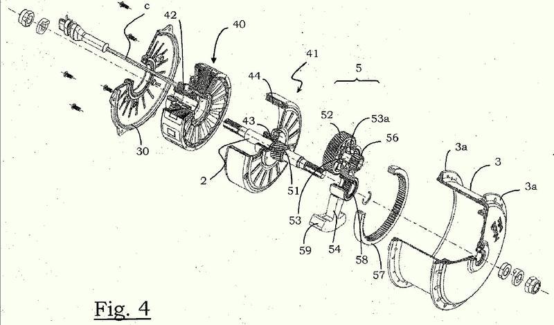 Motor de buje de rueda de una bicicleta eléctrica y bicicleta eléctrica que comprende dicho motor de buje de rueda.