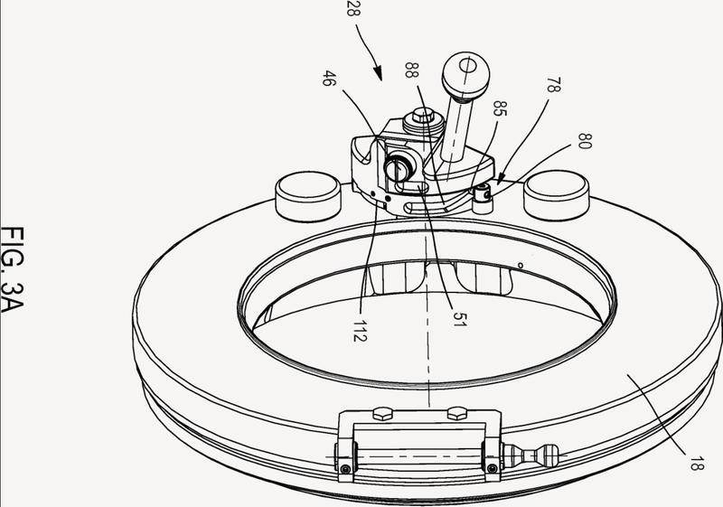 Mecanismo de control de alto nivel de seguridad para un dispositivo de transferencia estanca entre dos volúmenes cerrados.