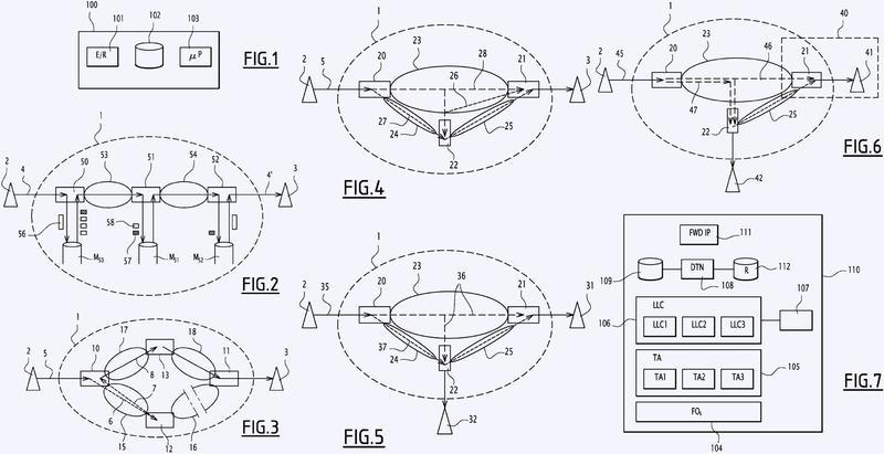 Procedimiento de comunicación en una red inalámbrica de telecomunicaciones, programa de ordenador y nodo inalámbrico de comunicación asociados.