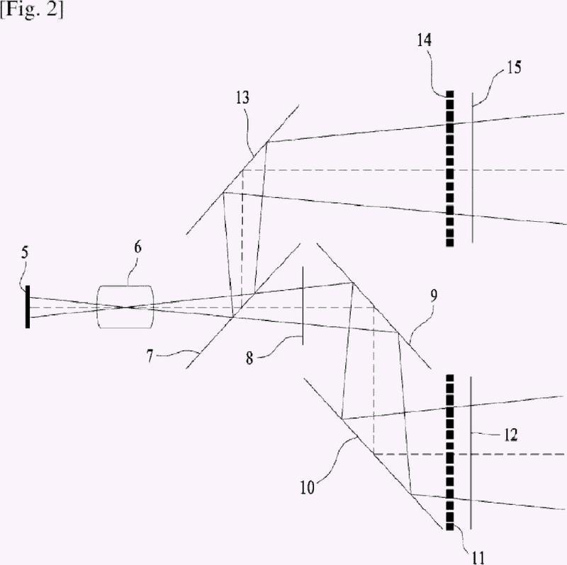 Dispositivo de formación de imágenes estereoscópicas.