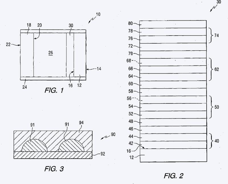 Revestimientos antisolares con una capa metálica discontinua.