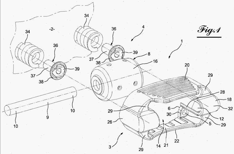 Dispositivo de tope amortiguador para vehículo, en particular para un vehículo automóvil.