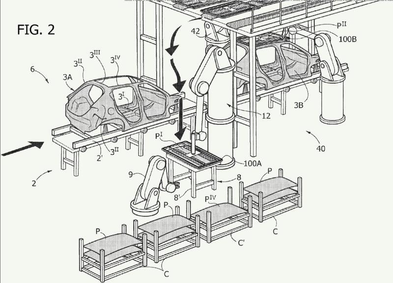 Sistema para montar un componente sobre una estructura de carrocería de un vehículo de motor.