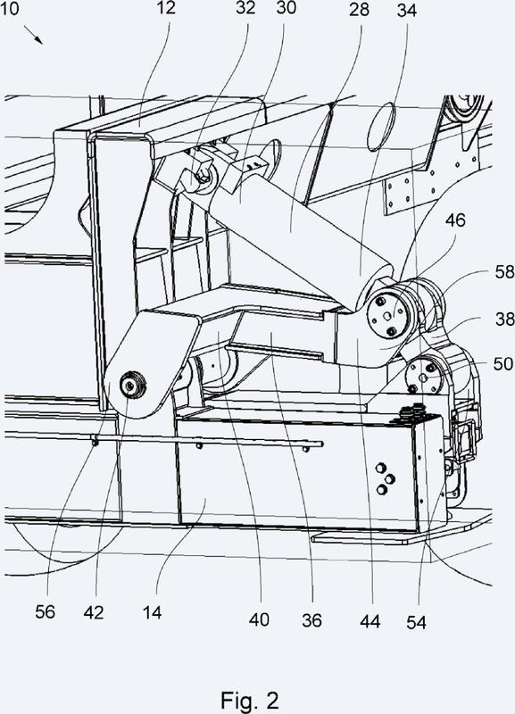 Sistema de elevación para un vehículo utilitario.