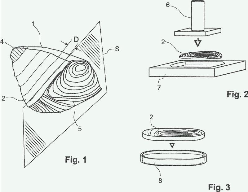 Método para preparar piezas de atún.
