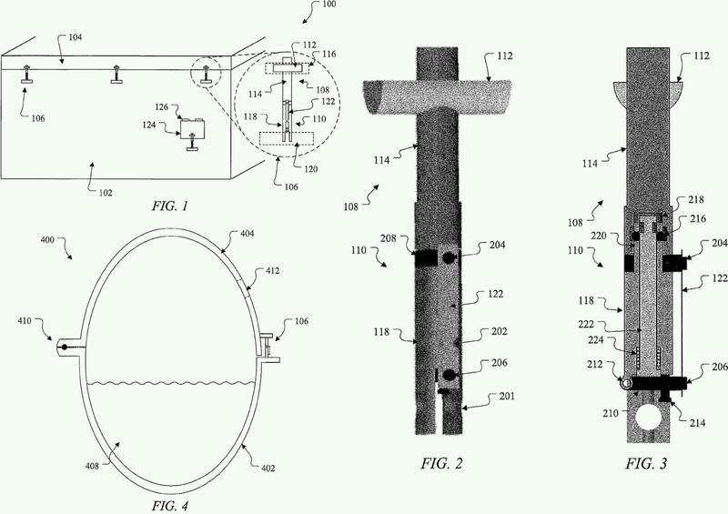 Mecanismo de seguridad pasiva que utiliza un material con memoria de forma y autofracturable.