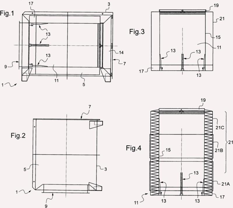 Procedimiento y accesorios para la colocación de un conducto de ventilación en un conducto subterráneo.