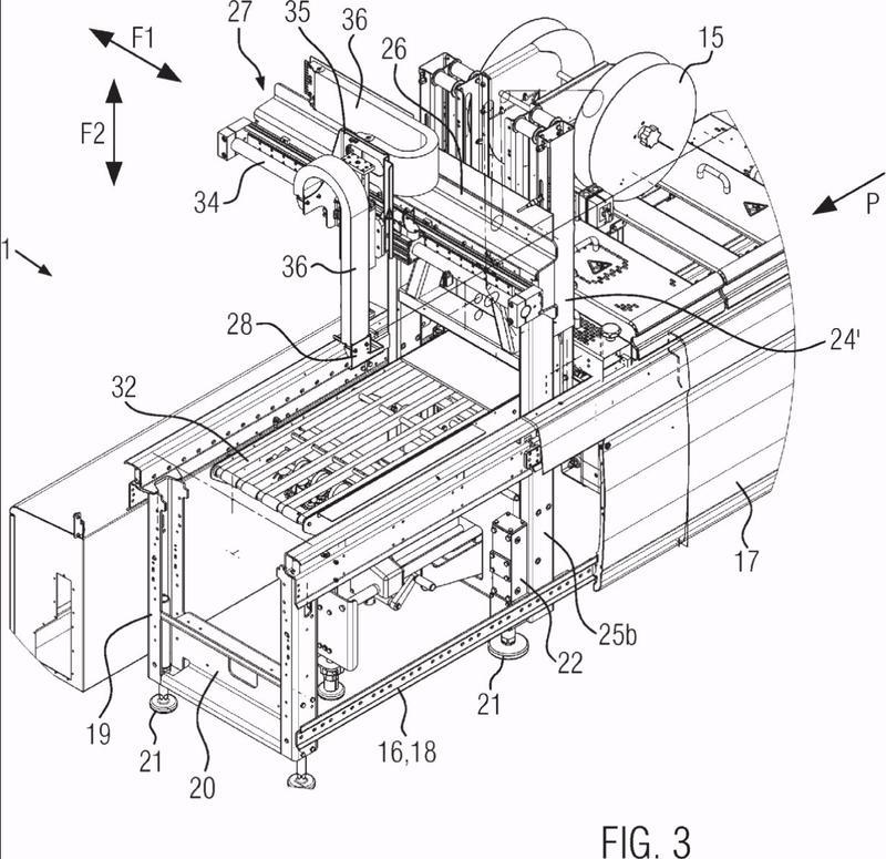 Máquina de envasado termoformadora con robot de dos ejes.