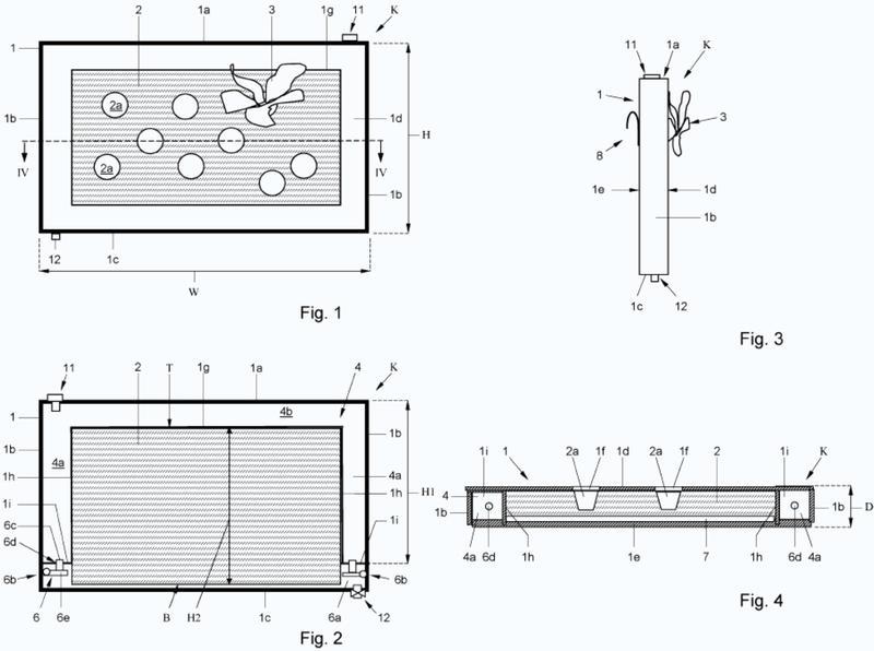 Dispositivo de crecimiento para cultivo, uso de dicho dispositivo y una serie de dispositivos de crecimiento.