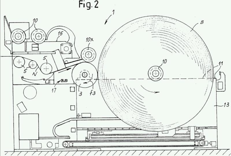 Un método y medios para la producción de carretes de red u otros materiales similares a red no tejidos.