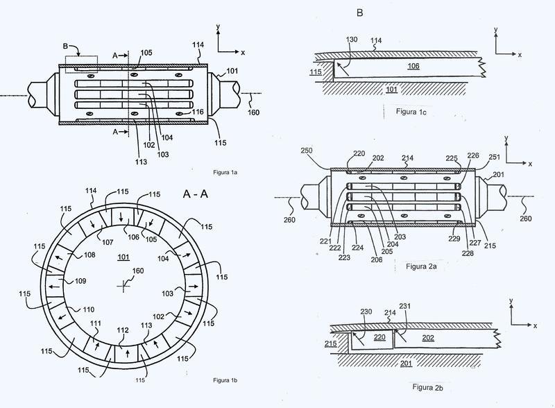 Estructura de rotor para una máquina eléctrica de imán permanente.