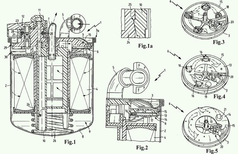 Dispositivo de filtración para fluidos, en particular para combustibles.