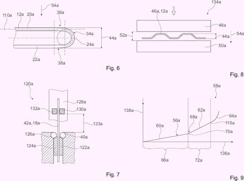 Tela metálica y método para fabricar una hélice para una tela metálica.