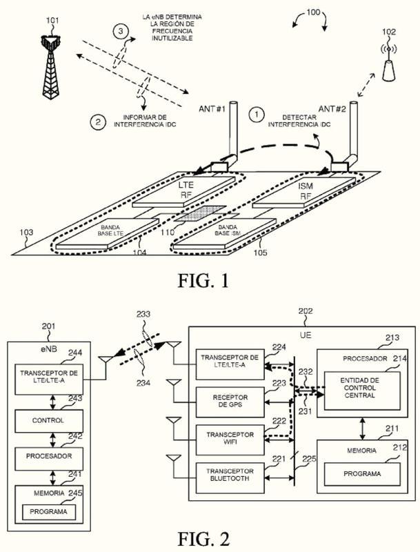 Diseño de señalización para soportar la evitación de interferencias de coexistencia en dispositivo.