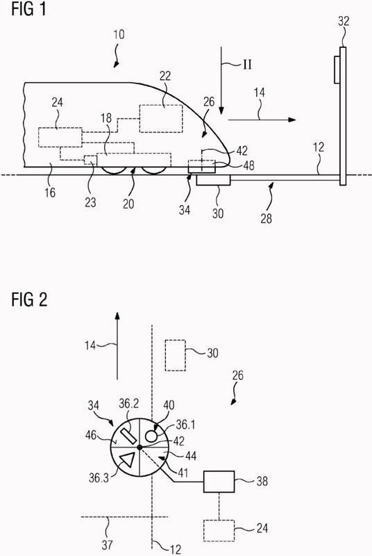 Dispositivo de transmisión para un vehículo ferroviario.