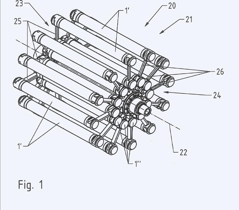 Dispositivo y procedimiento para la conversión de energía térmica.