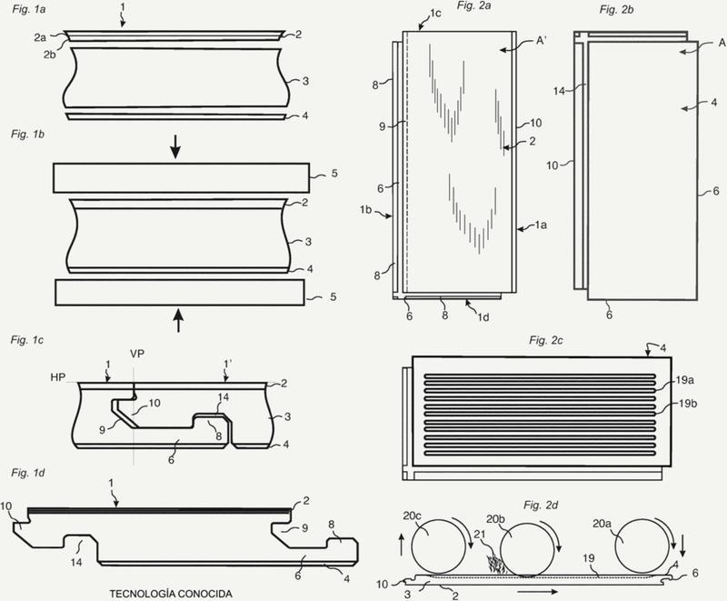 Paneles de construcción con peso y contenido de material reducidos.