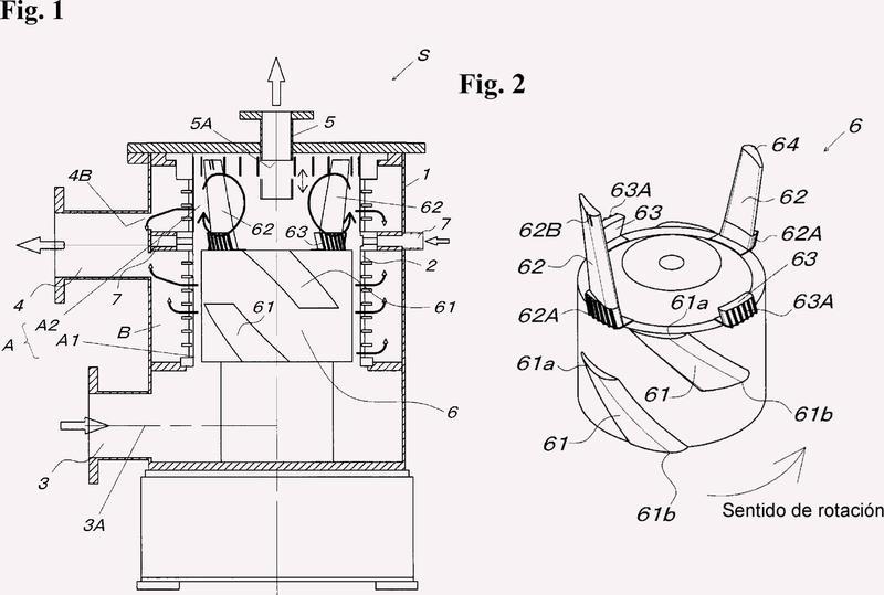 Dispositivo de tamiz para la fabricación de papel.
