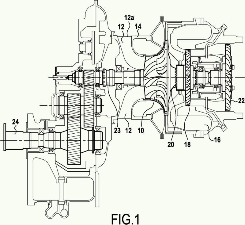 Motor de helicóptero de turbina de gas que tiene un dispositivo de insonorización.