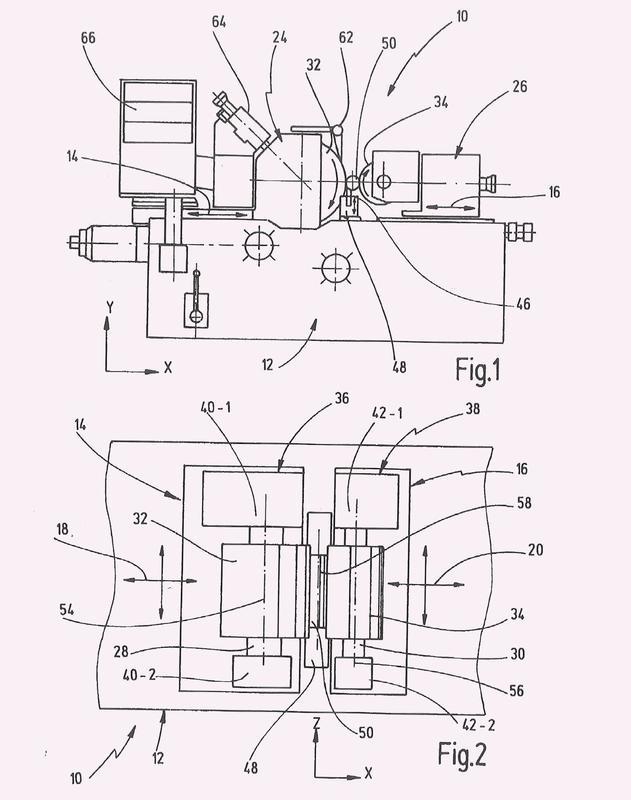 Dispositivo de amortiguación para un husillo de una máquina rectificadora así como máquina rectificadora con un dispositivo de amortiguación.