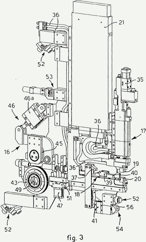 Cabezal de soldadura para una máquina para la formación de malla metálica, procedimiento de soldadura relativa y máquina para la formación de malla metálica utilizando dicho cabezal de soldadura.