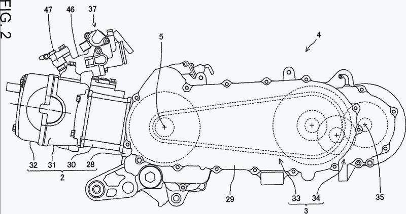 Estructura para la fijación de un sensor de gases de escape.