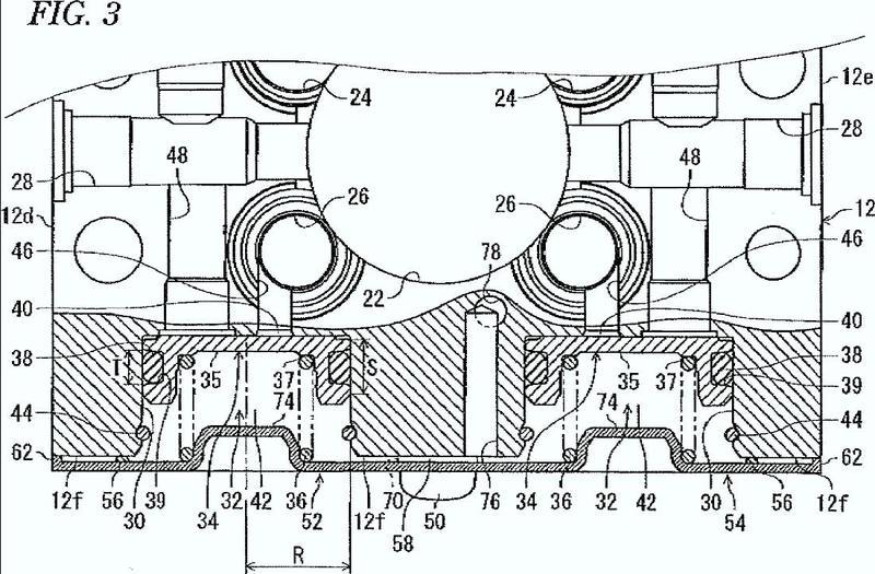 Dispositivo de control de presión de fluido de freno para vehículo.