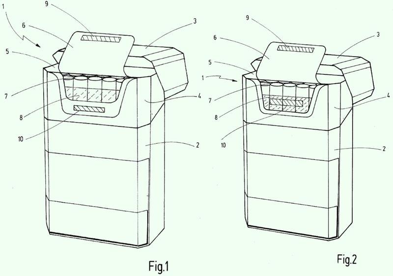 Paquete de tapa articulada con cierre magnético.