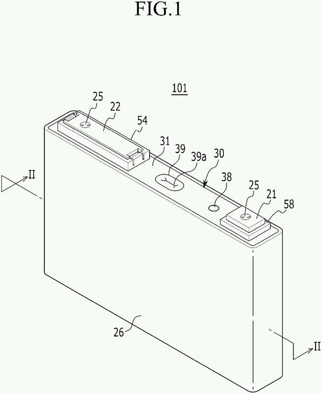 Batería recargable que tiene unidad de fusible.