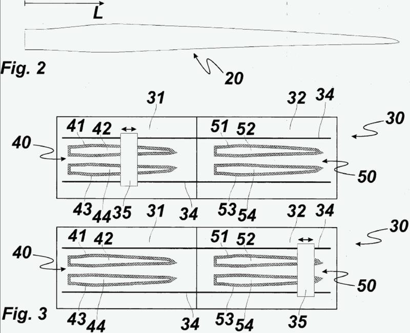 Método y línea de fabricación para fabricar palas de aerogenerador.