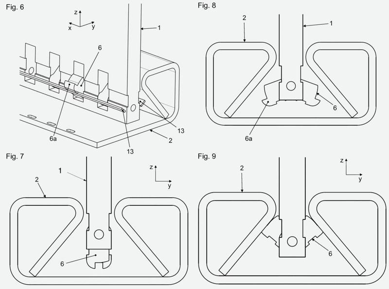 Riel para asiento de vehículo motorizado y sistema de riel de asiento para vehículo motorizado.