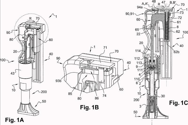 Dispositivo de inyección automática.