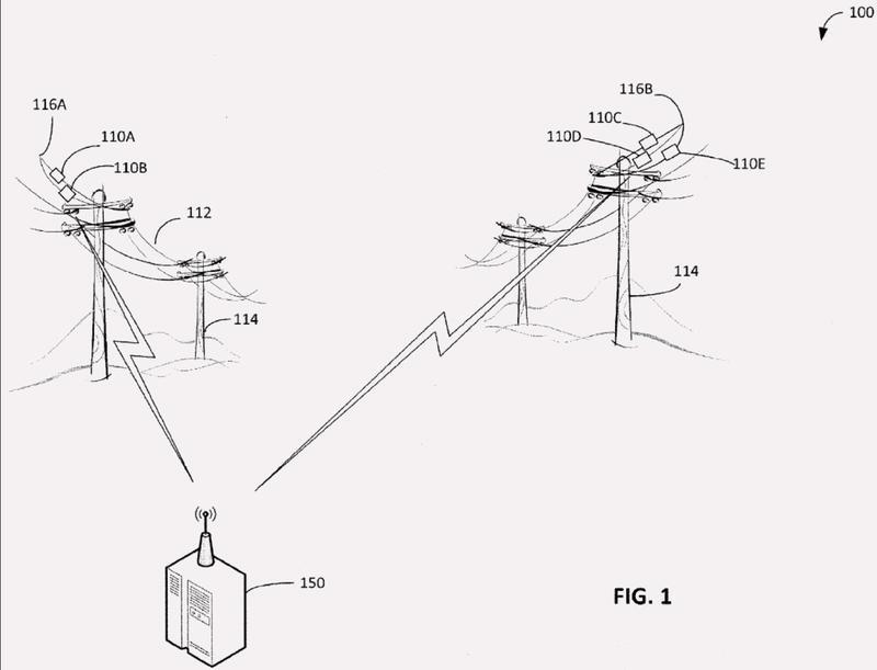 Procedimientos y aparato de determinación de condiciones de líneas eléctricas.