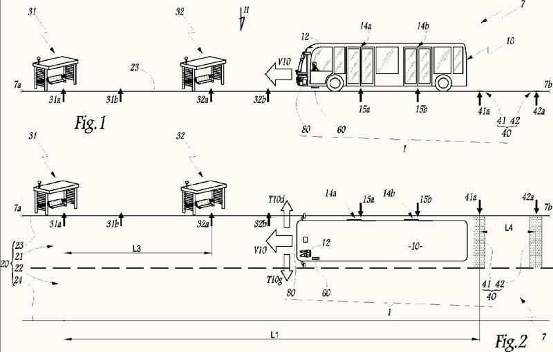 Sistema de control y método para vehículos de transporte de pasajeros, y vehículo de transporte de pasajeros configurado para el uso de tal sistema y/o de tal método.