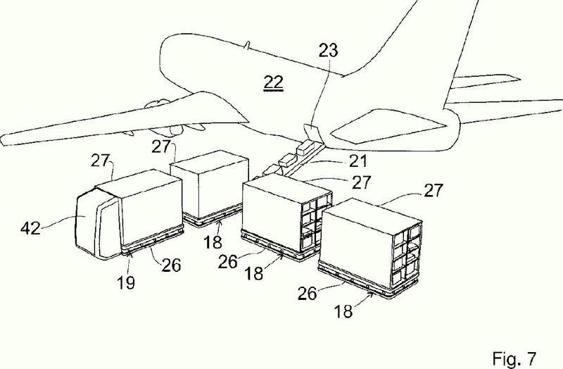 Dispositivo para transportar piezas de equipaje.