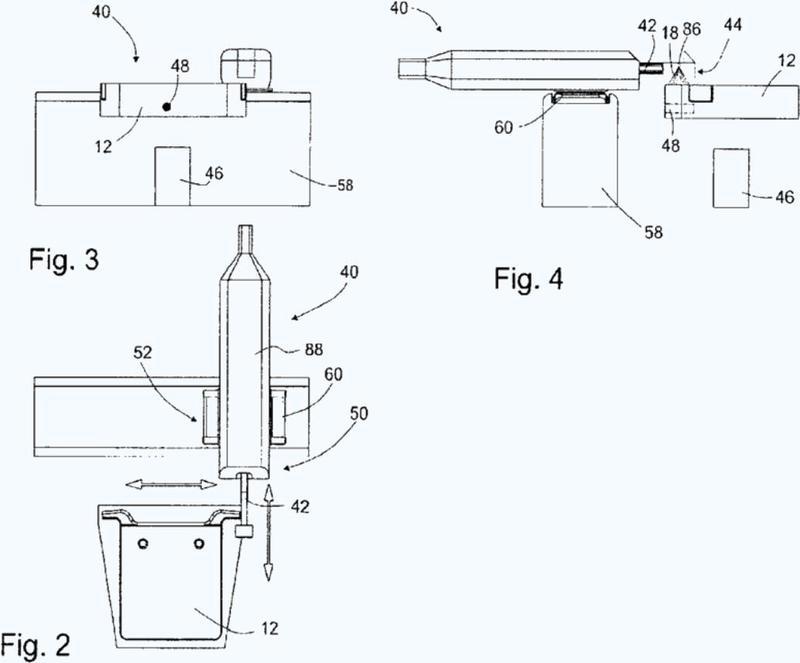 Procedimiento e instalación para la fabricación de producto semiacabado de cobre, así como procedimiento y dispositivo para aplicar un encolante.