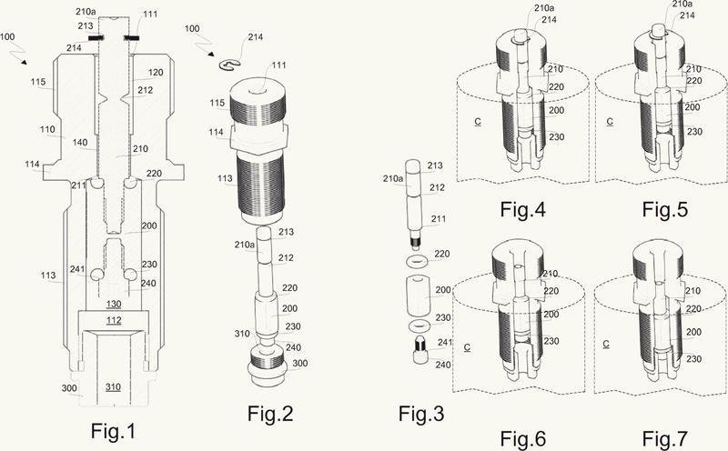 Válvula con dispositivo anti-rellenado para contenedores desechables de gas a presión.