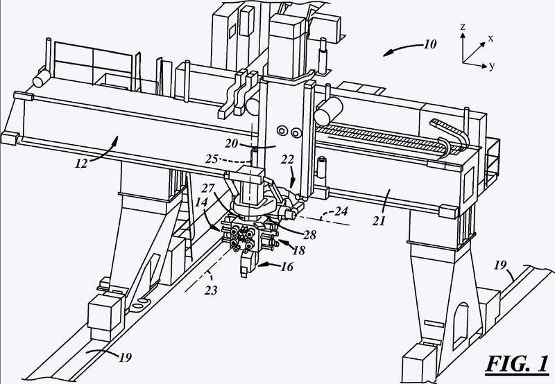 Dispositivo para la fabricación de una estructura compuesta.